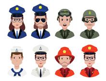 Police Avatar ,fireman Avatar ...