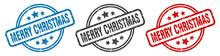 Merry Christmas Stamp. Merry C...