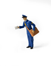 Online Purchases. Miniature Ma...
