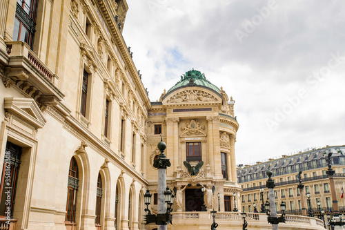 Leinwand Poster It's Opera Garnier, an opera house in Paris, France