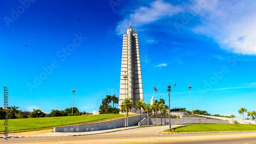 Fototapeta Plaza de la Revolucion (Revolution Square) of Havana, the capital of Cuba