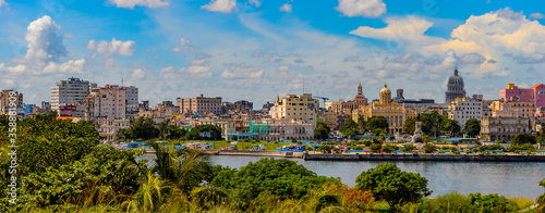 Panoramic view of Havana, the capital of Cuba Fototapete