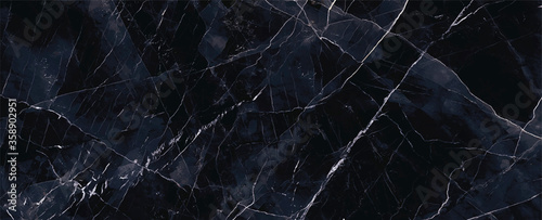 Fotomural navy blue Marble rock stone texture wallpaper background
