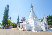 Wat Phra That Doi Kong Mu. Whi...
