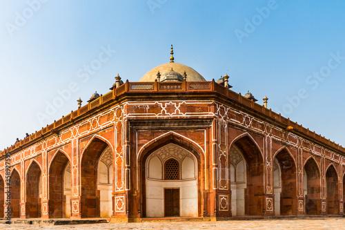 Fotografie, Obraz It's Humayun's Tomb complex,the tomb of the Mughal Emperor Humayun in Delhi, India