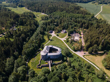 Aerial View To Raseborg Castle...