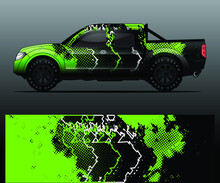Truck Decal Graphic Wrap Vecto...