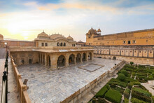 Aerial View Of Amber Fort Medi...