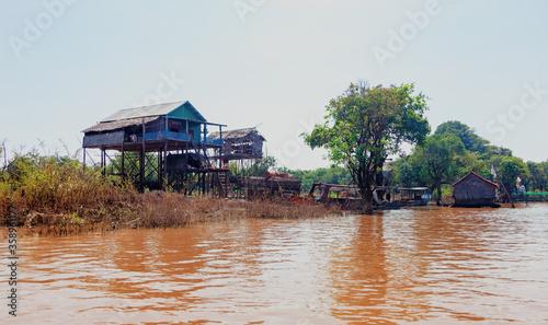 Fototapeta Tonle Sap lake