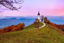 Church Jamnik, Slovenia