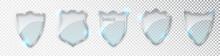 Glass Shields Set. Blank Acryl...