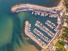 Marina Top Down Aerial View