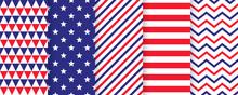 Patriotic Seamless Pattern. 4t...