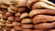 Arabic Bread Close Up