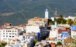 It's Chefchaouen, small town in northwest Morocco famous by its blue buildings