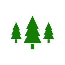 Tree Logo Pine Tree Icon Vecto...