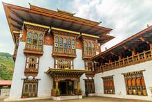 Inner Building Of The Punakha Dzong Holding The Ranjung Karsapani