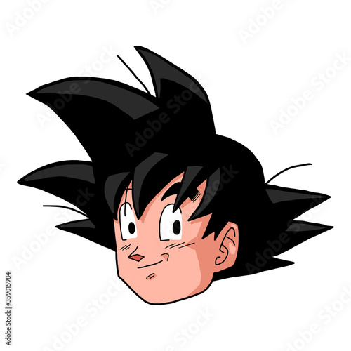 Character Face Manga and Anime фототапет