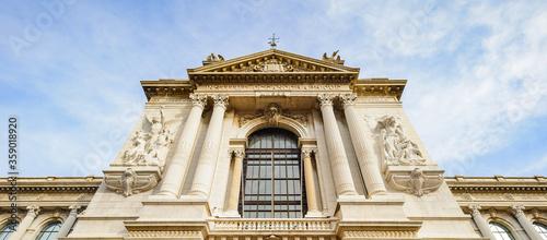 It's Oceanographic Museum (Musee oceanographique), a museum of marine sciences in Monaco-Ville, Monaco. Inaugurated in 1910