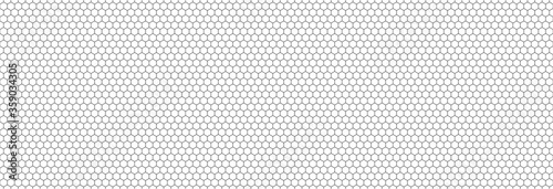 Valokuva Honeycomb hexagon background pattern
