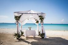 Zanzibar Beach Wedding Arch
