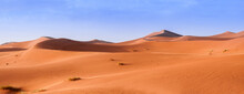 Sand Dune In The Sahara / In ...