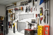 Organized Tools In Workshop