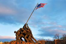 Marine Corps War Memorial At S...