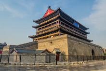Drum Tower In Xi'an, China