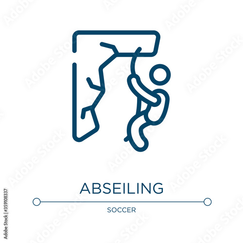 Photo Abseiling icon