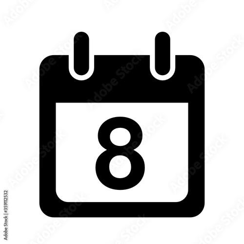Fotografia, Obraz kalendarz ikona