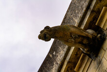 Gargoyle On A Building In Amboise, A Town In The Indre-et-Loire Department, France