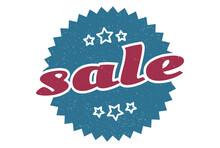 Sale Sign. Sale Round Vintage ...