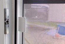 Plastic Window With Mosquito Net