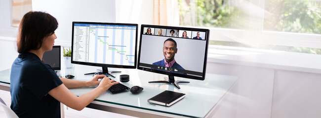 Online Video Conference Planning Call