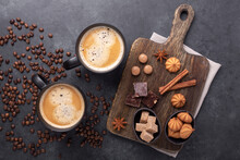 Coffee Cups, Coffee Beans, Var...