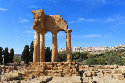 Agrigente / Sicile (Italie) - Temple de Castor et Pollux