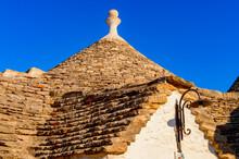 It's Trulli Of Alberobello, A Small Town In Apulia, Italy. The Trulli Of Alberobello Have Are A UNESCO World Heritage Site Since 1996