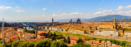 Fotografija Florence, the capital city of the Italian region of Tuscany and of the province of Florence