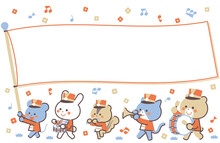 Animal Marching Band Marching ...