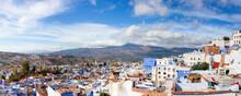 Chefchaouen Town, Morocco. Pan...