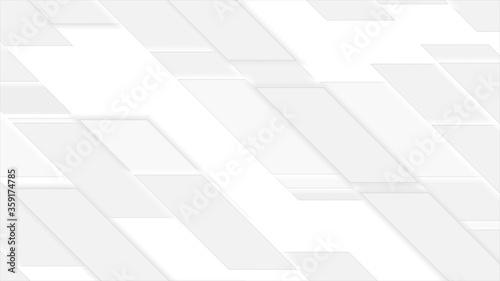 Fotografía Abstract grey geometric tiles background