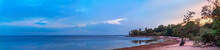 Panoramic View Of The Coast Of...