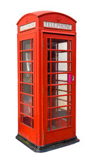Old Fashiond Red Telephone Box...