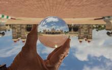 A Lens Crystal Ball Photograph...