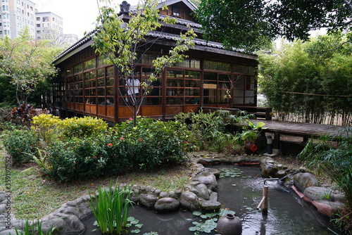 Taichung, Taiwan - 2 November 2018: Capture the architecture of Natural Way Six Arts Center, a place for Japanese wardens and police officers to practice martial art built in 1937 Canvas-taulu