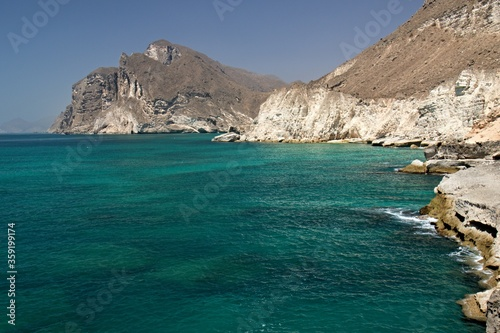 Fotografie, Obraz To the south of Salalah there is a beautiful sandy beach in Mughsayl