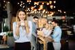 Leinwandbild Motiv People meeting communication business brainstorming teamwork concept