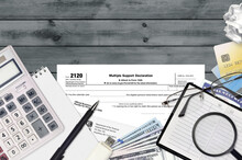 IRS Form 2120 Multiple Support...