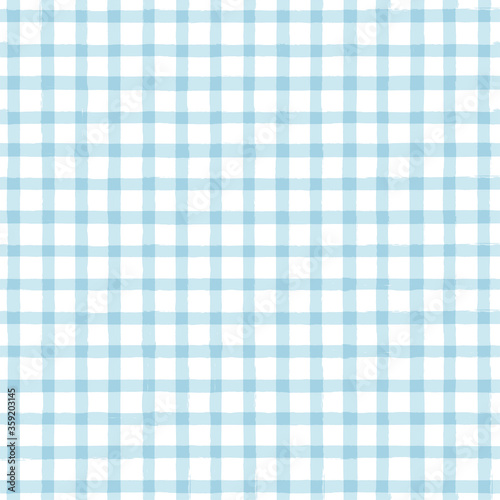 Tapeta niebieska  blue-gingham-seamless-pattern-watercolor-stripes-tartan-texture-for-spring-picnic-table-cloth-shirts-plaid-clothes-dresses-blankets-paper-vector-checkered-summer-paint-brush-strokes